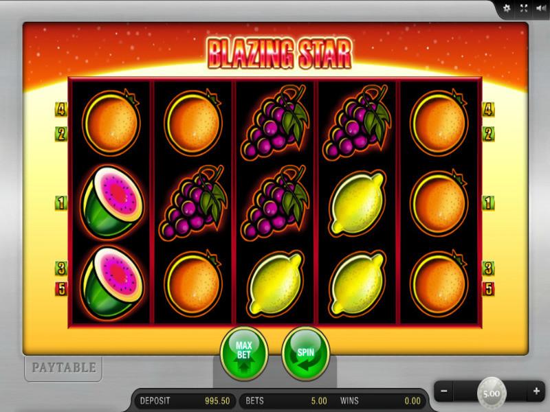 Blazing Star Slot: Ein Science-Fiction-Spielautomat